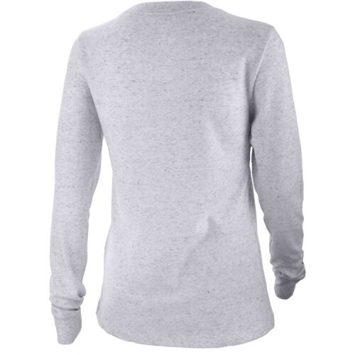 Womens Nike USWNT L/S Travel Tee – Birch Heather