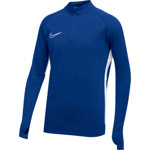 Kids Nike Academy19 Drill Top – Royal Blue