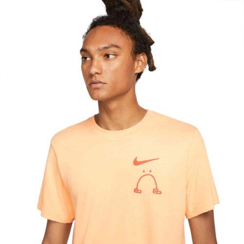 Nike Running Legs Tee – Orange Chalk