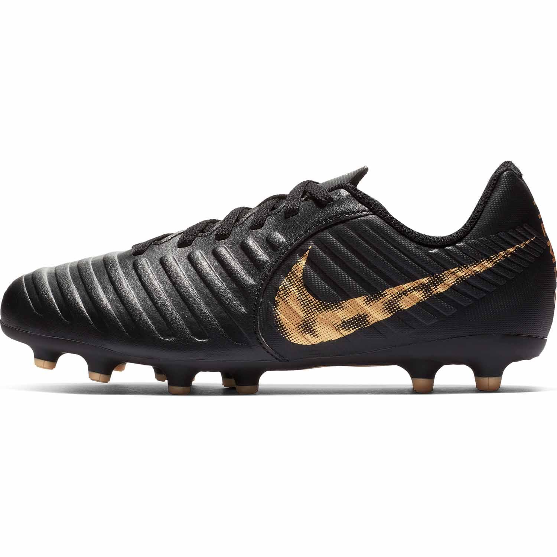 size 40 8f700 96404 Kids Nike Tiempo Legend 7 Club MG - Black Lux - SoccerPro