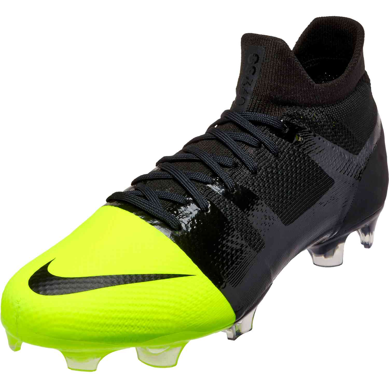 0e461db23a7 Nike Mercurial Greenspeed 360 FG – Black Metallic Silver Volt
