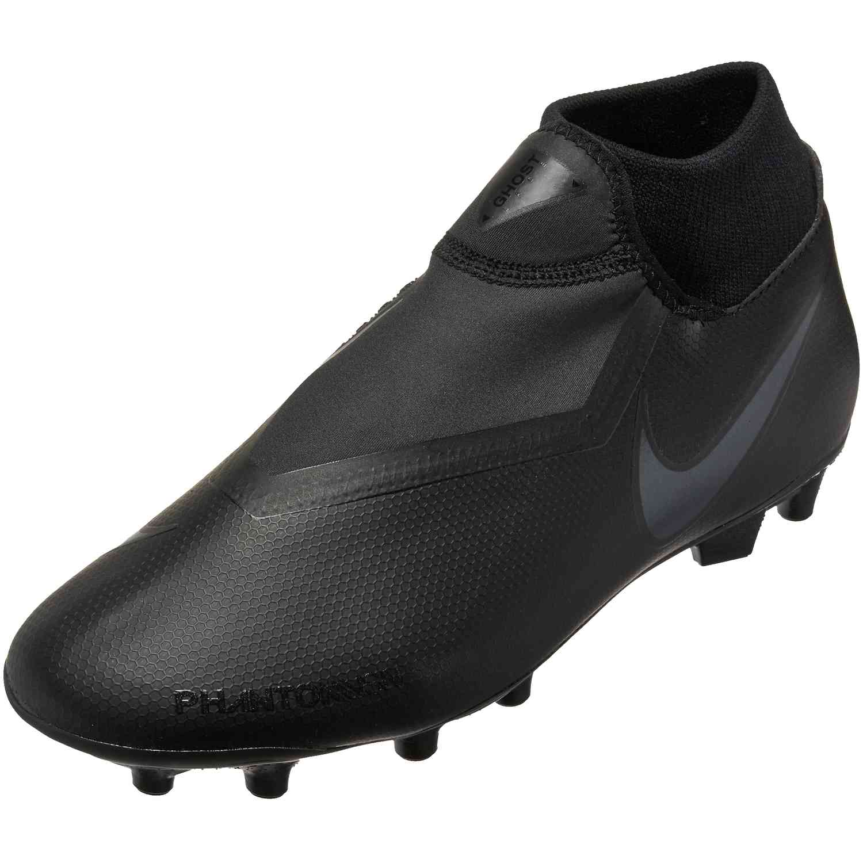 Gaseoso Personalmente metálico  Nike Phantom Vision Academy MG - Black/Black - SoccerPro