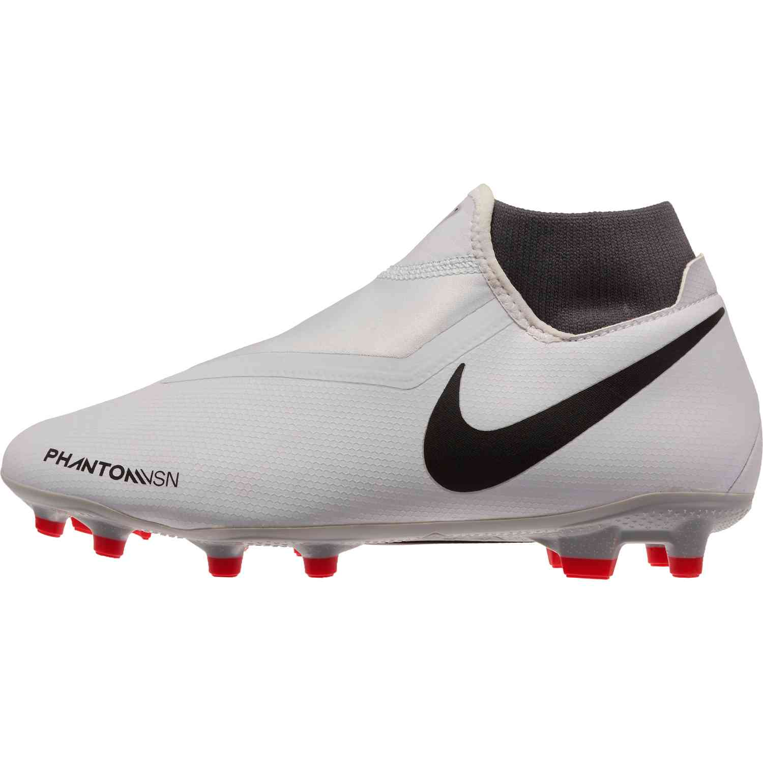 a469da467 Nike Phantom Vision Academy MG – Pure Platinum/Black/Light Crimson/Dark Grey