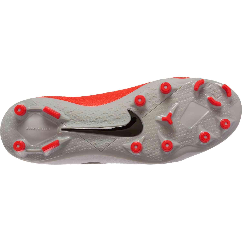 cf1134269fc Nike Phantom Vision Academy MG – Pure Platinum Black Light Crimson Dark Grey