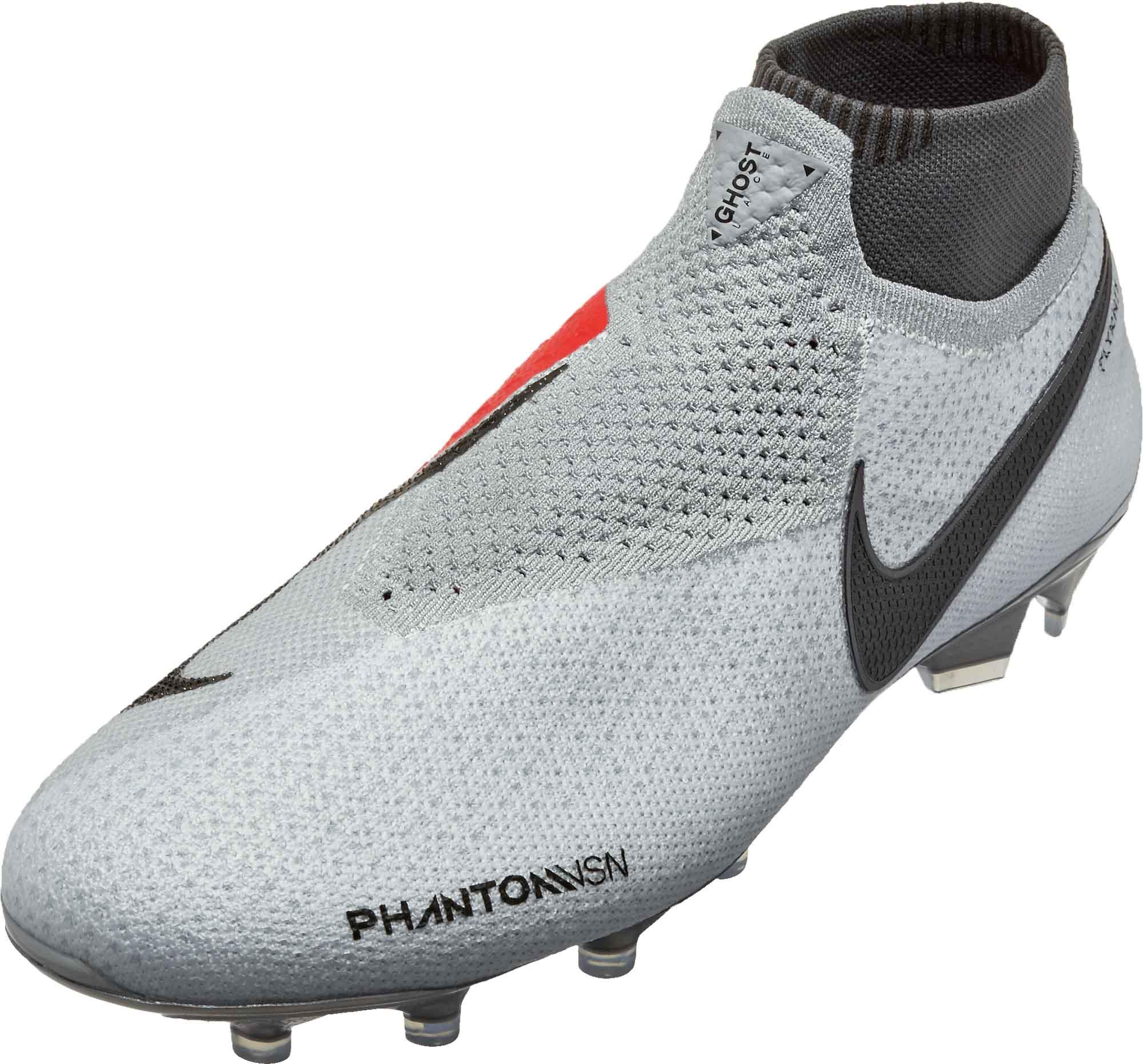 ae861da8109 Nike Phantom Vision Elite FG – Pure Platinum Black Light Crimson Dark Grey
