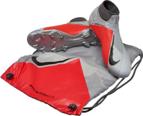 Nike Phantom Vision Elite FG – Pure Platinum/Black/Light Crimson/Dark Grey