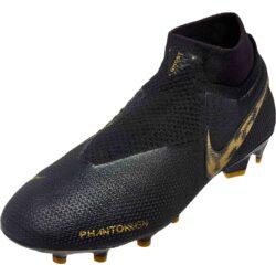 5d1f972cabe9 Nike Phantom Vision Elite FG - Black Lux - SoccerPro
