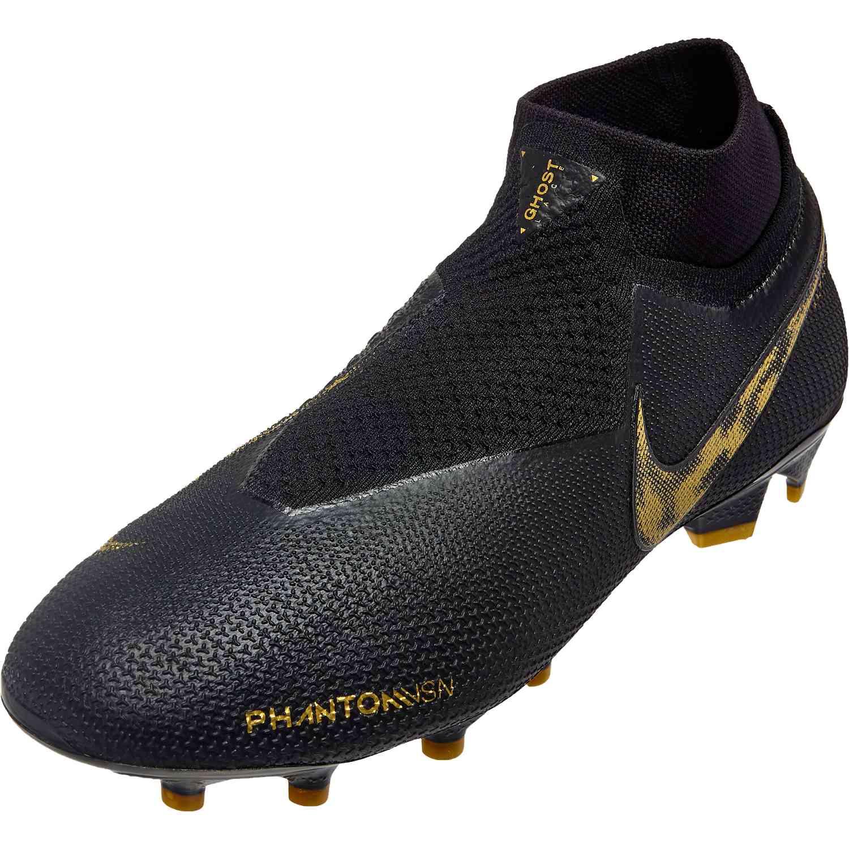 7016d77159e2 Nike Phantom Vision Elite FG - Black Lux - SoccerPro