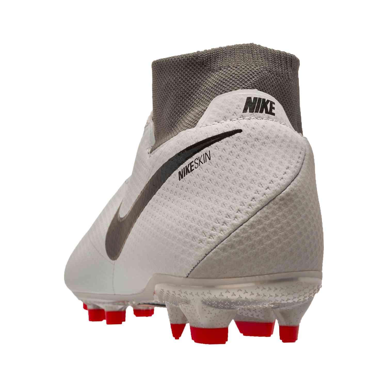 Nike Phantom Vision Pro Fg Pure Platinum Black Light