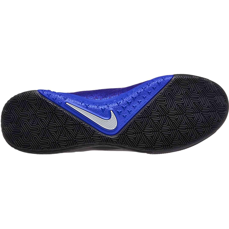 7a659bf61e4a Nike Phantom Vision Pro IC - Black Metallic Silver Racer Blue - Cleatsxp
