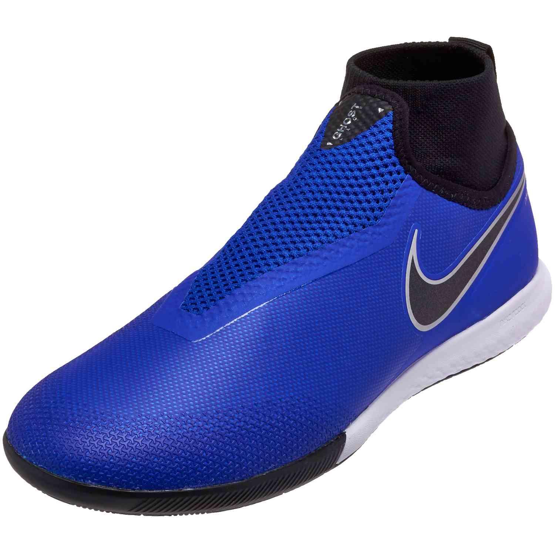 d634a73f73 Nike Phantom Vision Pro IC - Racer Blue Black Metallic Silver Volt ...