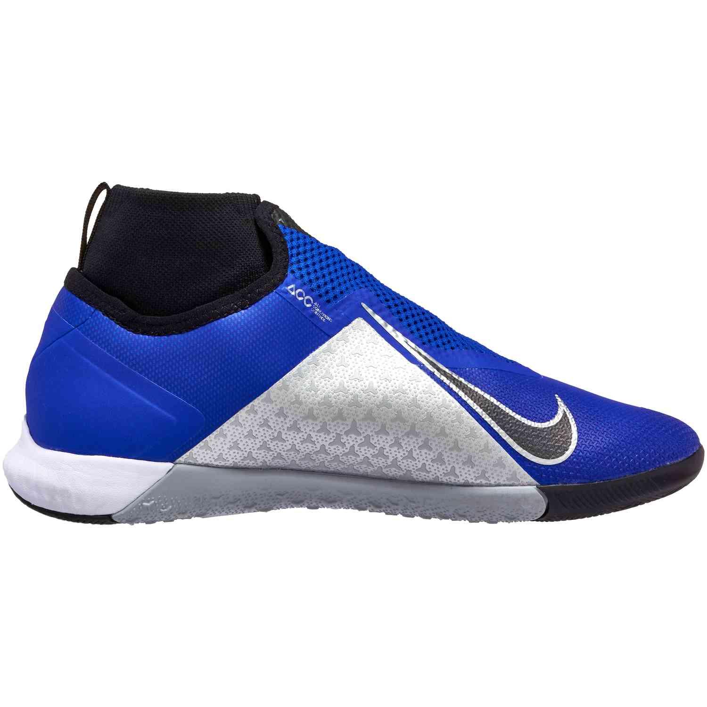 3c747e0fe40 Nike Phantom Vision Pro IC - Racer Blue Black Metallic Silver Volt ...