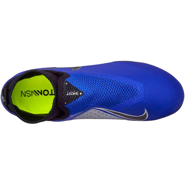 b001cffad15 Nike Phantom Vision Pro IC - Racer Blue Black Metallic Silver Volt ...