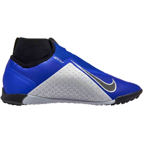 Nike Phantom Vision Pro TF – Racer Blue/Black/Metallic Silver/Volt