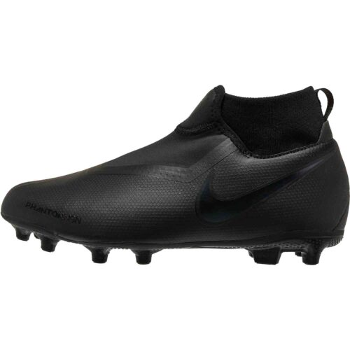 Nike Phantom Vision Academy MG – Youth – Black/Black
