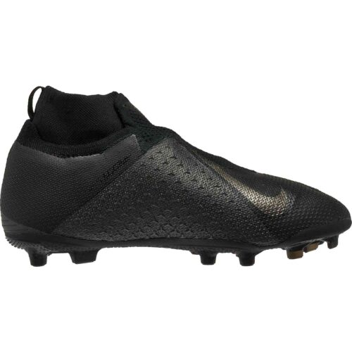 Nike Phantom Vision Elite MG – Youth – Black/Black