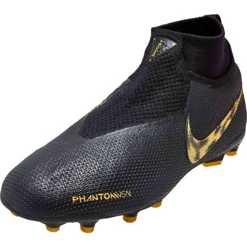 Kids Nike Phantom Vision Elite FG – Black Lux