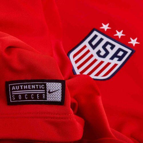 Womens Nike USWNT Anthem Jacket – Speed Red/White
