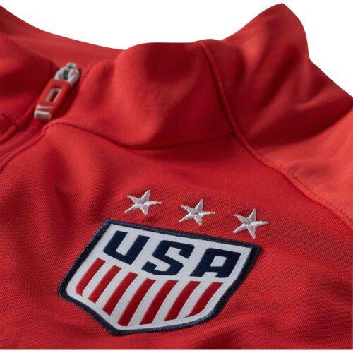 Kids Nike USWNT Anthem Jacket – Speed Red/White