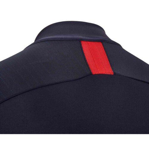Nike PSG Dry Strike Drill Top – Oil Grey/Oil Grey/University Red