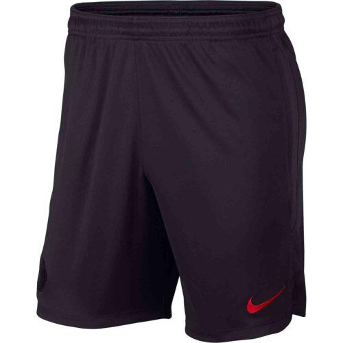 Nike PSG Dry Strike Training Shorts – Oil Grey/Obsidian/University Red