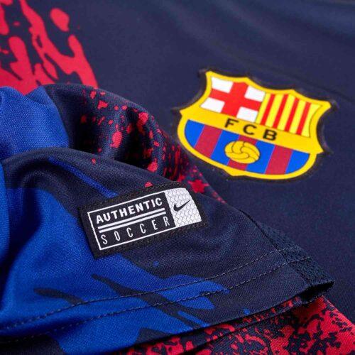 Nike Barcelona Pre-match Top – Obsidian/Varsity Maize