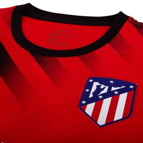 Nike Atletico Madrid Pre-match Training Top – Challenge Red/Black