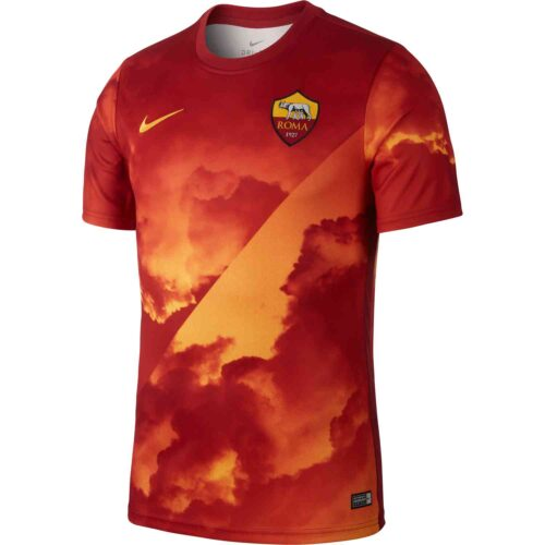 Nike AS Roma Pre-match Training Top – University Gold
