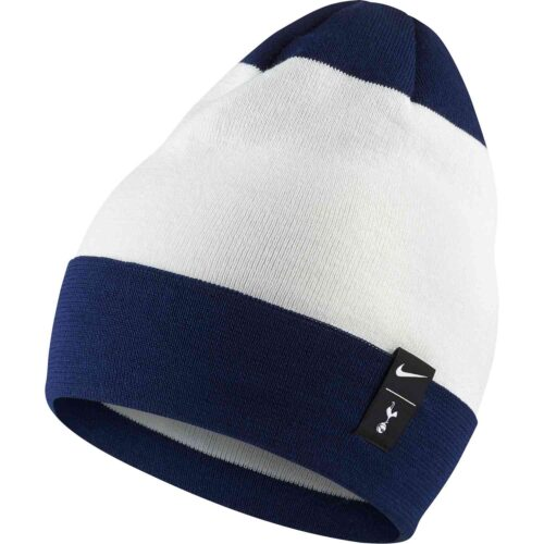 Nike Tottenham Knit Beanie – White/Binary Blue