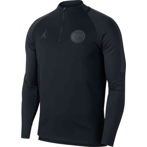 Nike PSG Dry Squad Drill Top – Black