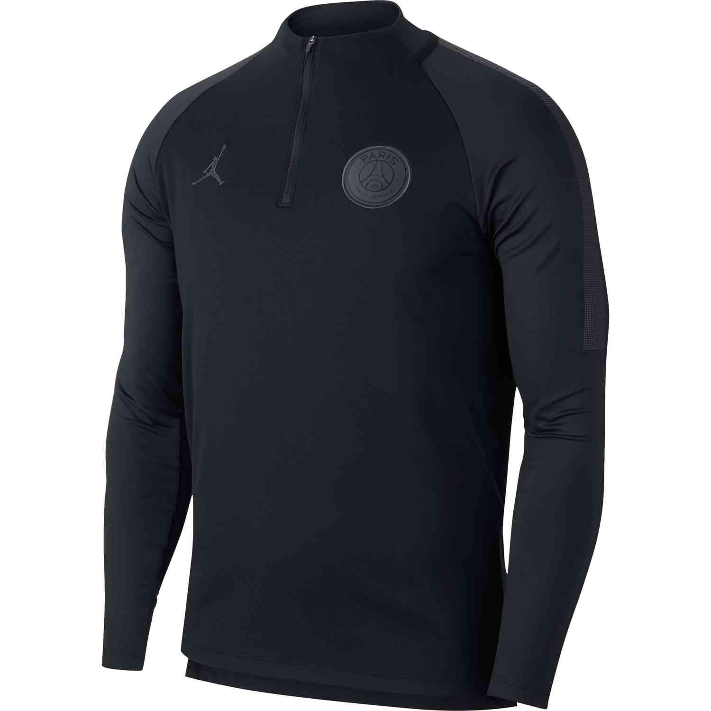 Nike PSG Dry Squad Drill Top - Black