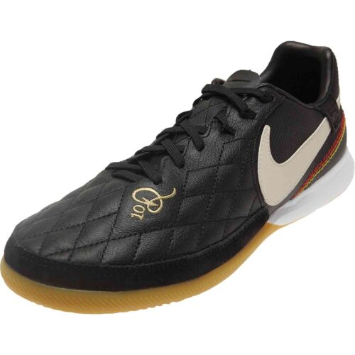 Nike 10R Tiempo Legend 7 Pro IC – Black/Light Orewood/Brown/Metallic Gold