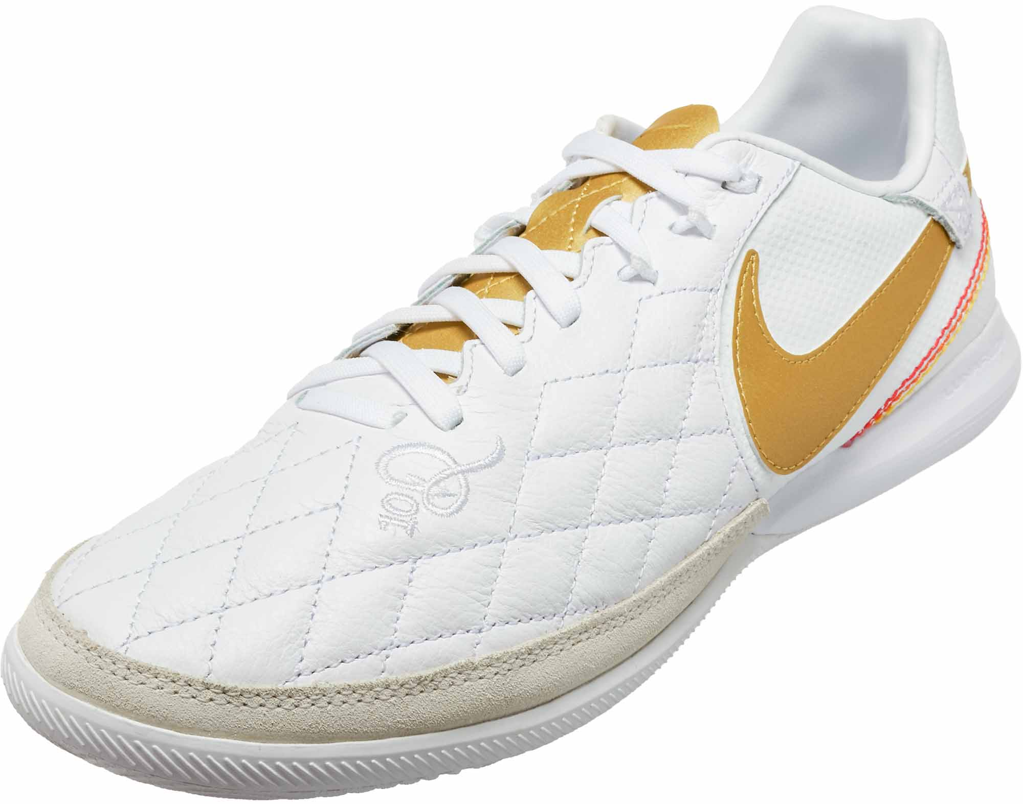 1586734da1c Nike Lunar LegendX 7 Pro IC - 10R - White Metallic Gold White ...