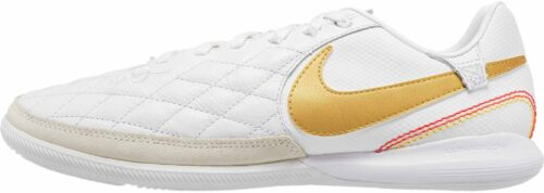 Nike Lunar LegendX 7 Pro IC – 10R – White/Metallic Gold/White