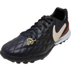 orden barrera Escupir  Nike 10R Tiempo Legend 7 Pro TF - Black/Light Orewood/Brown/Metallic Gold -  SoccerPro