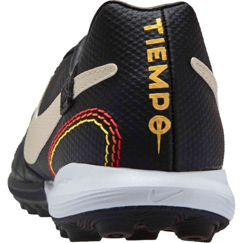 Nike 10R Tiempo Legend 7 Pro TF – Black/Light Orewood/Brown/Metallic Gold
