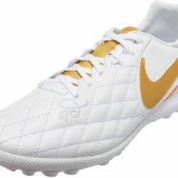 lección Están deprimidos Arriba  Nike Lunar LegendX 7 Pro TF - 10R - White/Metallic Gold/White - SoccerPro