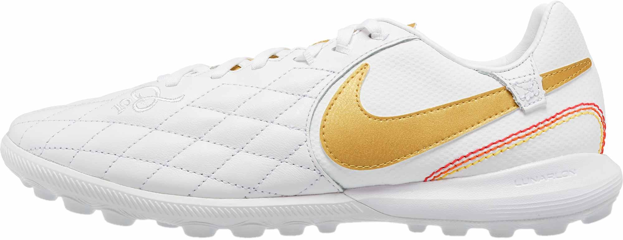 Nike Lunar Legendx 7 Pro Tf 10r White Metallic Gold