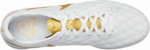 Nike Lunar LegendX 7 Pro TF – 10R – White/Metallic Gold/White