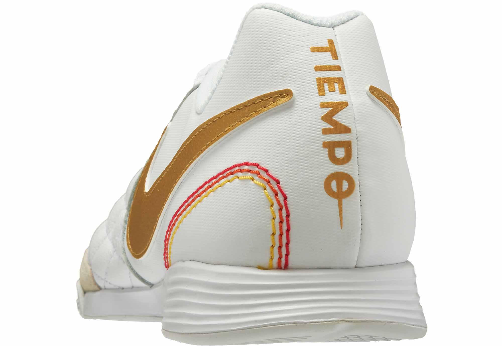 various colors e779c 6582b Nike LegendX 7 Academy IC - 10R - White/Metallic Gold ...