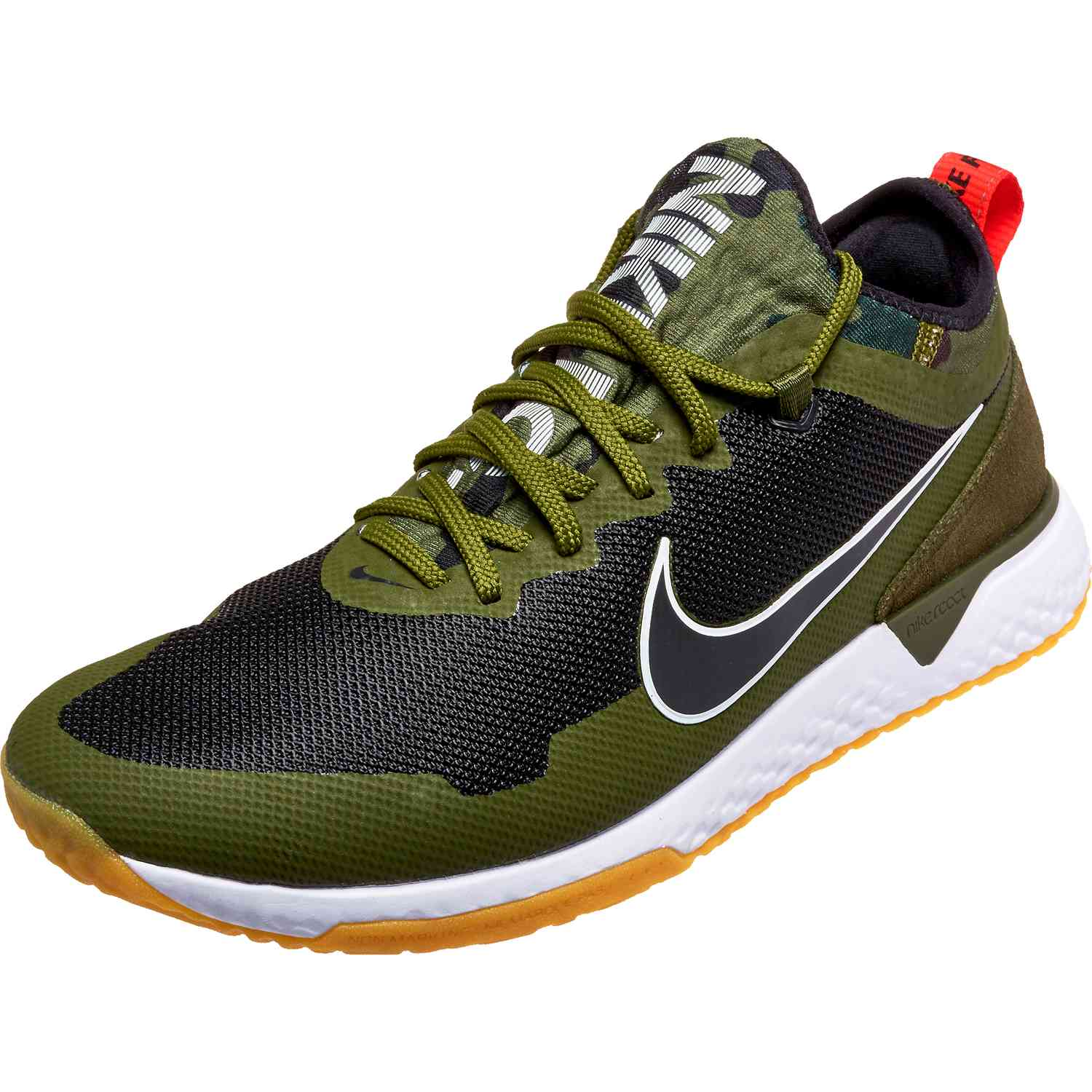 8eb5724814a1 Nike FC React - Black and Green - SoccerPro.com