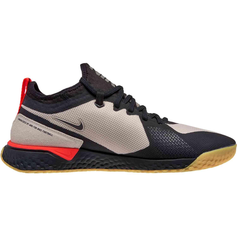 c294ed93457a6 Nike FC React - Desert Sand and Black - SoccerPro.com