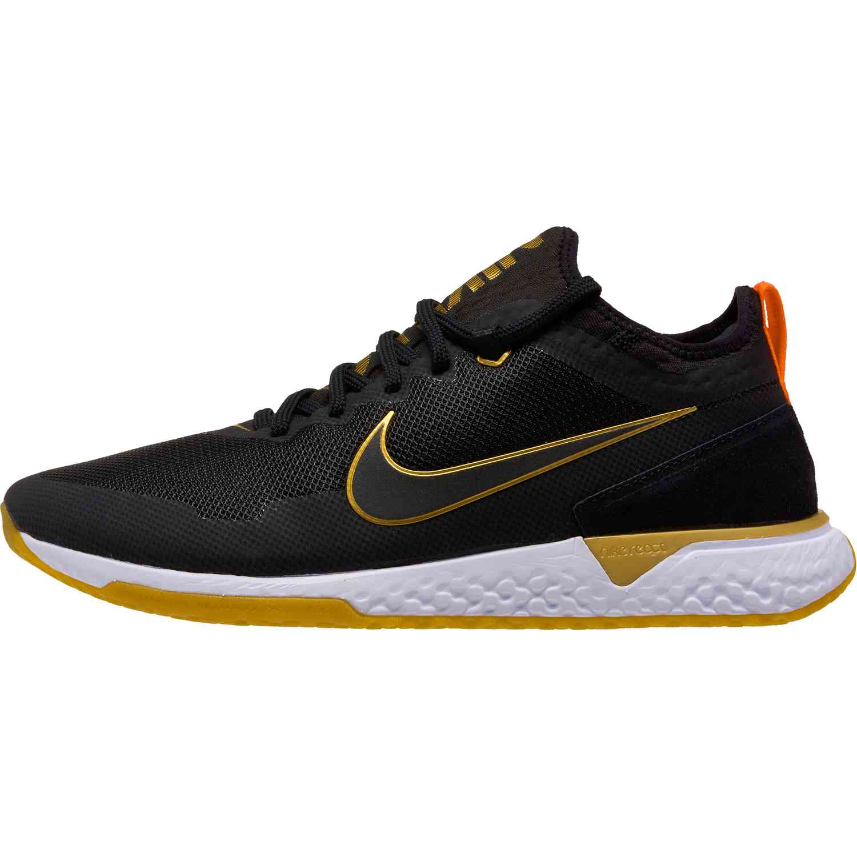 Nike FC React - Black and Metallic Gold