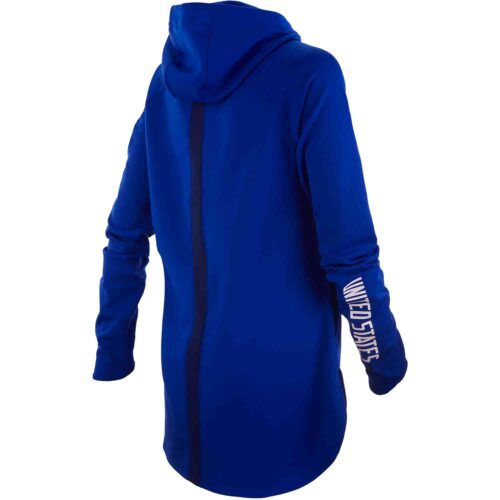 Womens Nike USWNT Hoodie – Bright Blue/Loyal Blue/White
