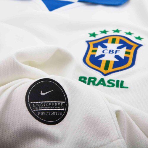 2019 Kids Nike Copa America Brazil Away Jersey