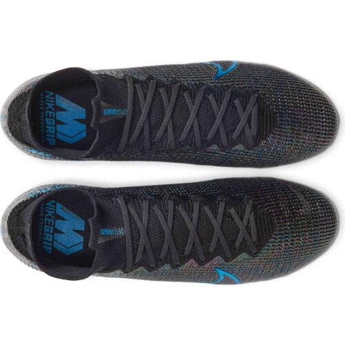 Nike Mercurial Superfly 7 Elite FG – Black & Laser Blue