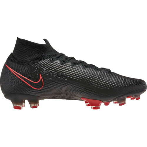 Nike Mercurial Superfly 7 Elite FG – Black x Chile Red Pack