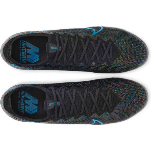 Nike Mercurial Vapor 13 Elite FG – Black & Laser Blue