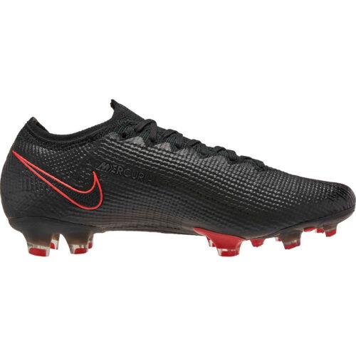 Nike Mercurial Vapor 13 Elite FG – Black & Dark Smoke Grey