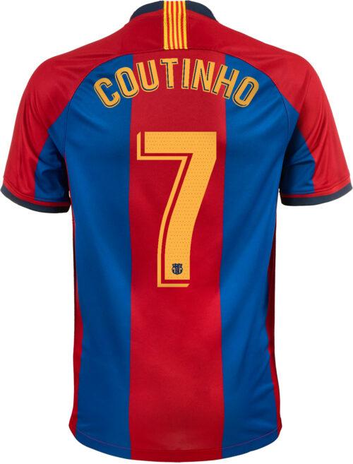 7cc0a4e1c Nike Philippe Coutinho 98 99 Barcelona Home Jersey